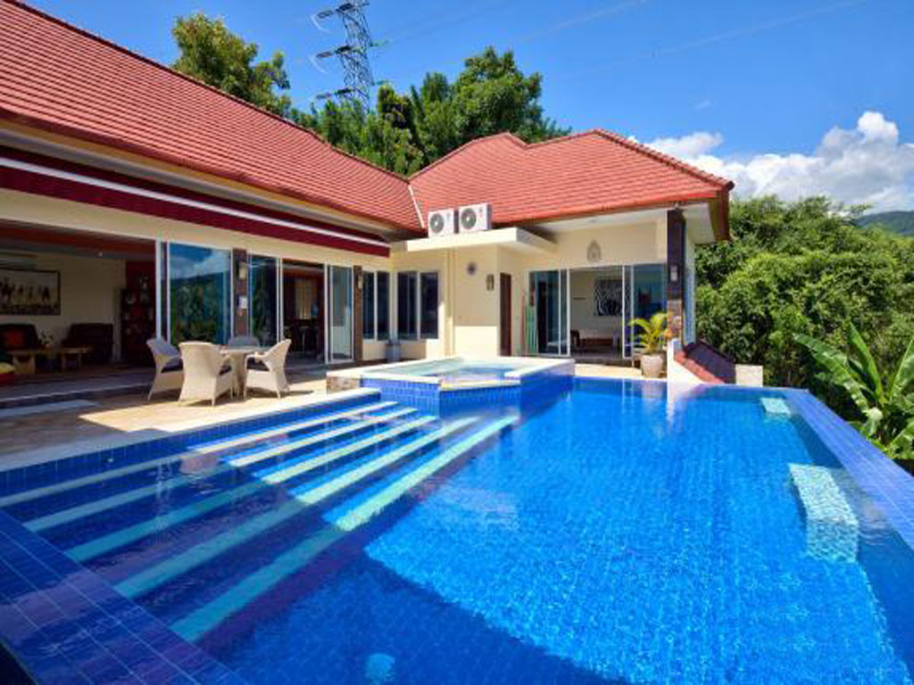 north bali ocean view villa ebel with private pool for rent