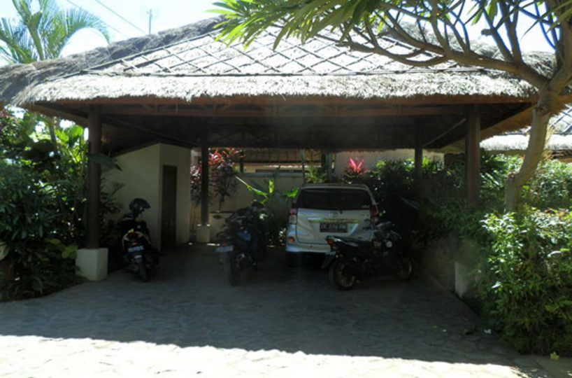 bali villa with private poll