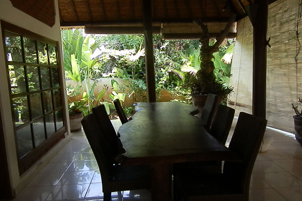bali villa for rent with terrace