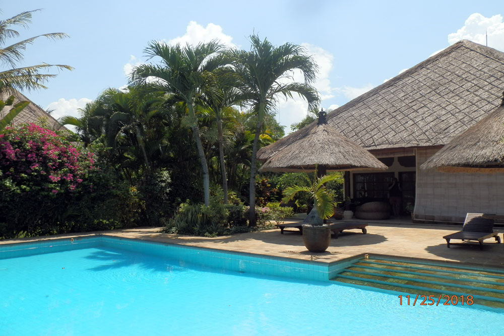 bali villa for rent with pool