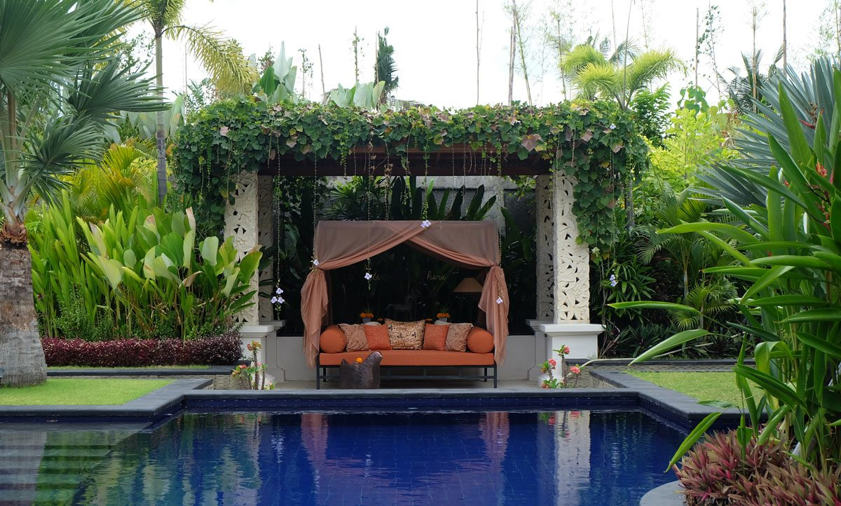 bali villa with pool for rent