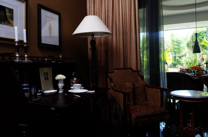 bali villa for rent with office