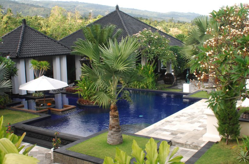 north bali hillside villa