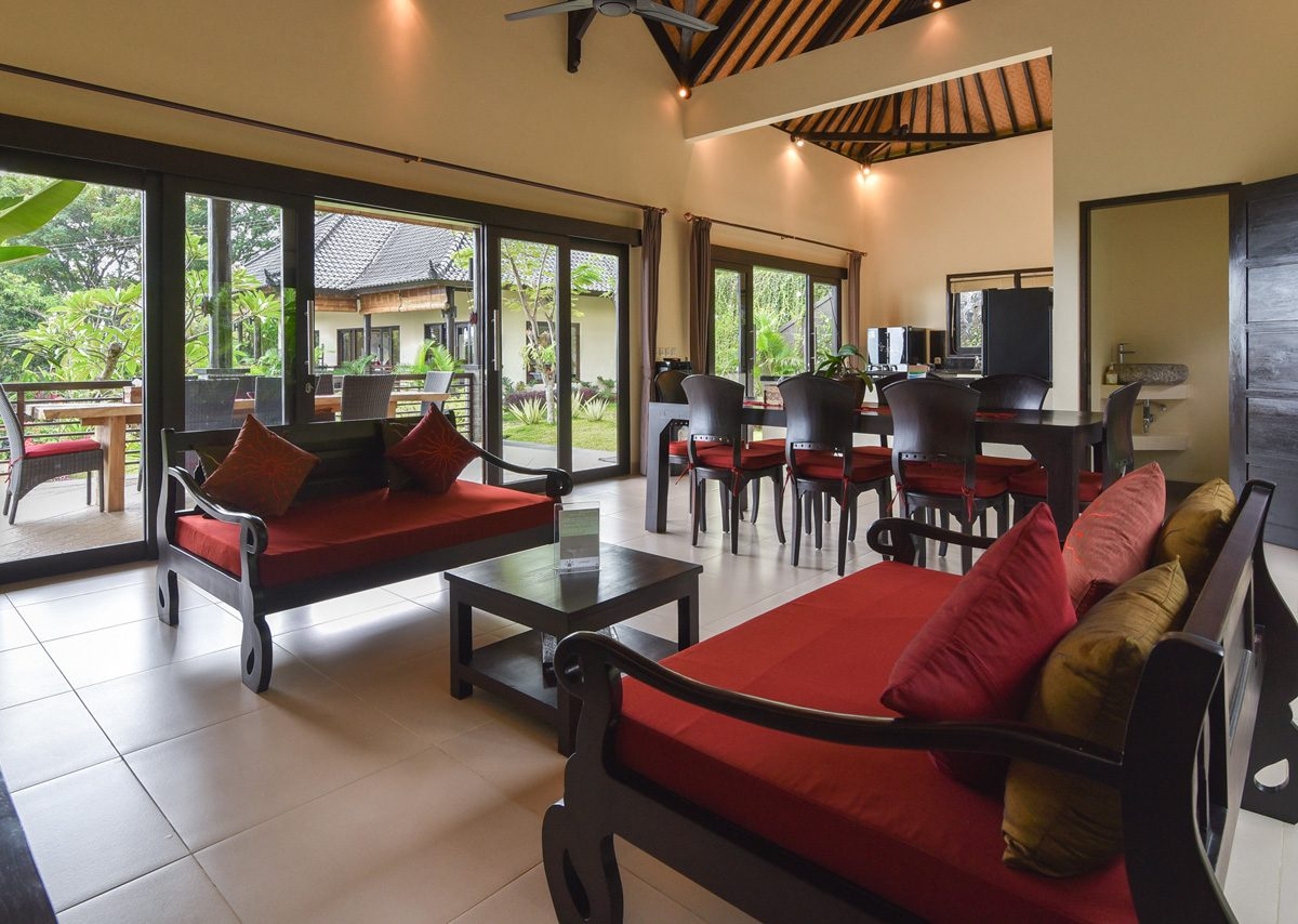 bali villa with view for rent