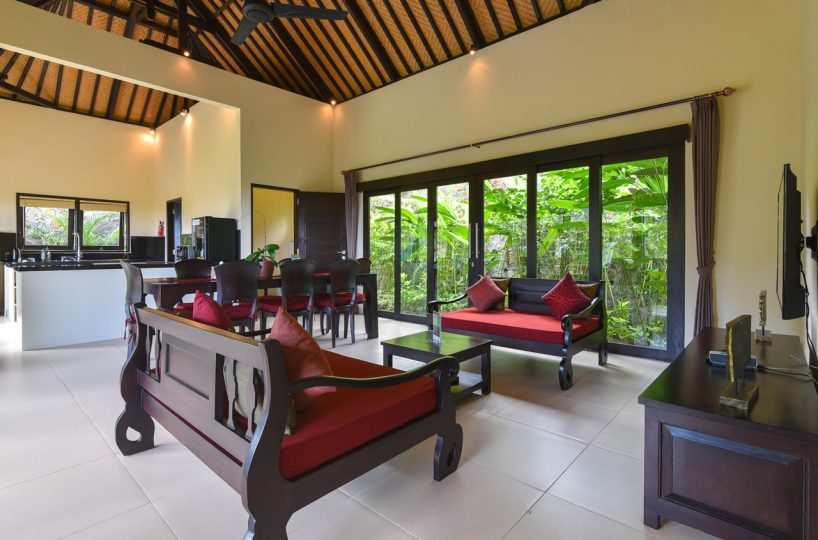 bali villa with sea view for rent