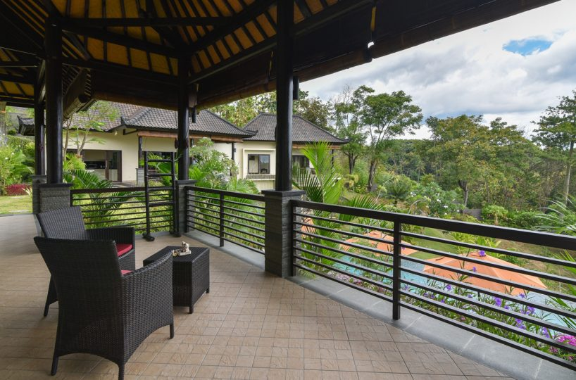 bali villa with ocean view for rent