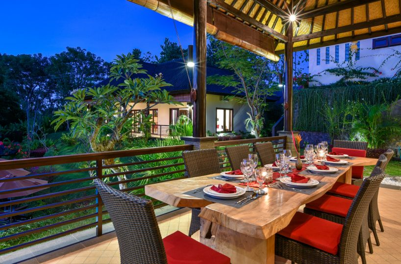 north bali villa with view for rent